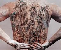 中国山水纹身二套之五  摄影 照片 - 黄岩 - 中国油画(一)当代专场 - 2007春季大型艺术品拍卖会 -收藏网
