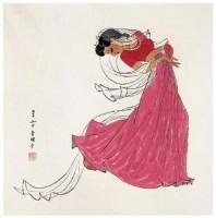 人物 - 4527 - 中国名家书画 - 2007春季中国名家书画拍卖会 -收藏网
