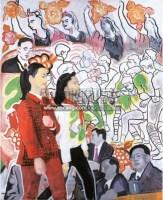 今天的人民英雄之一 压克力画布 画框 - 余友涵 - 「尤伦斯重要当代中国艺术收藏:破晓—当代中国艺术的追本溯源」晚间拍卖会 - 2011年春季拍卖会 -收藏网
