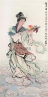 献寿图 立轴 设色纸本 - 白伯骅 - 中国当代书画 - 2006秋季艺术品拍卖会 -中国收藏网
