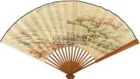 桃花源里好种田 成扇 设色纸本 -  - 中国书画(一) - 2011春季拍卖会 -中国收藏网
