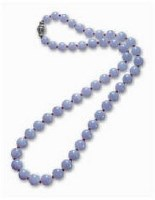 LAVENDER JADEITE AND RUBY BEAD NECKLACE -  - Magnificient Jewels and Jadeite - 2007年秋季拍卖会 -收藏网