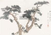 山水 纸本设色 - 117470 - 中国书画 - 2011春季艺术品拍卖会 -收藏网