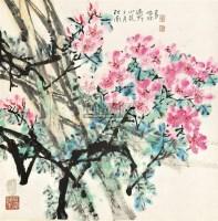 花卉 立轴 设色纸本 - 10403 - 中国书画 - 2011 春季艺术精品拍卖会 -中国收藏网