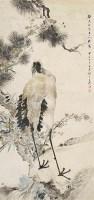 王礼(1813-1879)松鹤延年 - 王礼 - 中国书画 - 2007年秋季中国书画拍卖会 -收藏网