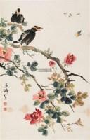 花鸟 立轴 纸本 - 116837 - 中国书画 - 2011金秋艺术品大型拍卖会 -收藏网