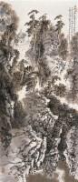 曲径通幽 立轴 设色纸本 - 孙君良 - 中国当代水墨 - 2006秋季拍卖会 -收藏网