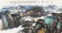 江山垂秀 镜片 设色纸本 - 20759 - 中国书画(一) - 2011春季艺术品拍卖会 -收藏网