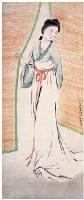 饲养员 立轴 设色纸本 - 方人定 - 岭南名家书画 - 2007夏季拍卖会 -收藏网
