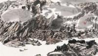 山水 镜心 纸本 - 117590 - 名家书画作品专场(二) - 2011春季艺术品拍卖会 -收藏网