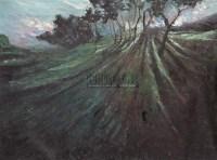 田野 布面 - 颜文梁 - 中国油画 - 2006春季拍卖会 -收藏网