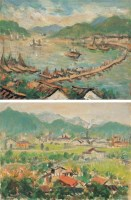 林达川 风景 纸本油画 - 林达川 - 中国传统油画 - 2006秋季艺术品拍卖会 -收藏网