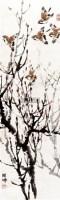 麻雀 立轴 纸本 - 1722 - 中国书画(一) - 2011首届秋季艺术品拍卖会 -收藏网
