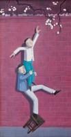 枝上花 布面 油画 - 向庆华 - 名家西画 当代艺术专场 - 2008年春季拍卖会 -收藏网