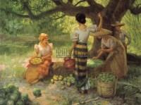 FERNANDO CUETO AMORSOLO Mango gathering -  - 现代及当代东南亚艺术 - 2007春季艺术品拍卖会 -收藏网