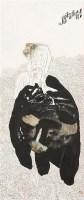 老子出关图 镜心 设色纸本 - 119214 - 私人收藏书画专场(一) - 2011秋季艺术品拍卖会 -收藏网