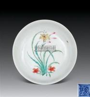 粉彩花卉盘 -  - 瓷器 杂项 - 2011春季拍卖会 -中国收藏网