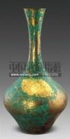 铜鎏金长颈瓶 -  - 古董珍玩 - 2011春季艺术品拍卖会 -收藏网