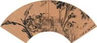 芭蕉 - 周鼐 - 中国扇面书画 - 十五周年庆典拍卖会 -收藏网