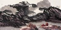 西藏风情 镜心 设色纸本 - 陆天宁 - 中国书画 - 2005首届书画拍卖会 -收藏网