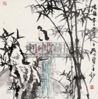 人物 立轴 设色纸本 -  - 中国书画 - 2008秋季艺术品拍卖会 -收藏网