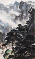 山水 立轴 设色纸本 - 陈洞庭 - 中国书画 - 2006新年拍卖会 -收藏网
