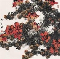 红棉 镜心 设色纸本 -  - 当代中国书画精品 - 2006年春季拍卖会 -收藏网