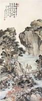 策杖行旅图 镜片 纸本 - 116608 - 中国书画(一) - 2011年春季拍卖会 -收藏网