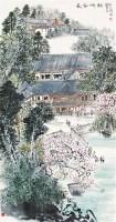 长安碑林 轴 - 何海霞 - 中国书画 - 2011年首屇艺术品拍卖会 -中国收藏网