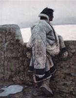 黄昏依旧 布面  油画 - 艾轩 - 现代中国艺术 - 2006秋季拍卖会 -收藏网