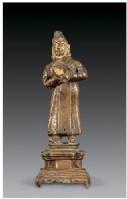 黄铜吞米·桑布扎像 -  - 佛像唐卡 - 2007春季艺术品拍卖会 -收藏网