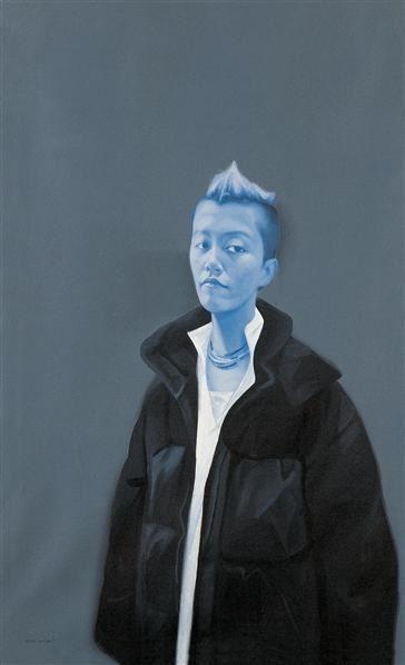 郭伟 2004年作 无题 布面油画 - 125661 - 中国当代艺术二十年 - 2006秋季拍卖会 -收藏网