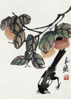 花鸟 带框 设色纸本 - 2675 - 中国书画专场 - 2008第三季艺术品拍卖会 -收藏网