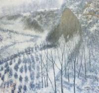 雪塬 油画 布面 -  - 中国书画(一) - 2011秋季拍卖会 -收藏网