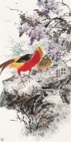 春意盎然 镜片 设色纸本 - 148870 - 中国书画(一) - 2011年金秋精品书画拍卖会 -收藏网