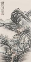赏梅图 镜心 设色纸本 -  - 海上旧梦(四) - 2010年春季艺术品拍卖会 -收藏网