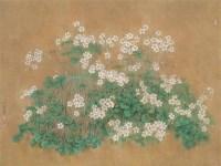 白小荣 新雨 镜心 设色纸本 -  - 当代中国书画(一) - 2006畅月(55期)拍卖会 -收藏网