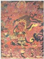大红司命主唐卡 -  - 佛像唐卡 - 2007春季艺术品拍卖会 -收藏网