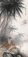 双雄 立轴 设色纸本 - 吴伯年 - 中国书画(二) - 2006年秋季拍卖会 -收藏网