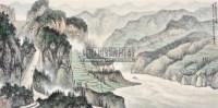 望高俯视写西陵 镜心 纸本设色 - 黄纯尧 - 中国书画(一) - 2011春季艺术品拍卖会 -收藏网