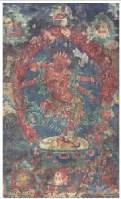 智行佛母唐卡 -  - 佛像唐卡 - 2007春季艺术品拍卖会 -收藏网