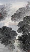 小鸟天堂图 镜心 设色纸本 - 5002 - 吴地风韵专场 - 2008首届秋季大型古玩书画拍卖会 -收藏网