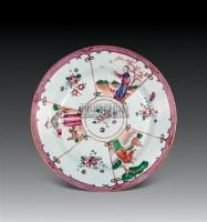 广彩人物碟 -  - 瓷器 杂项 - 2011春季拍卖会 -中国收藏网