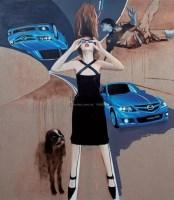 时速空间 布面油画 - 刘大明 - 当代与唯美 中国油画雕塑 - 2008春季大型艺术品拍卖会 -收藏网