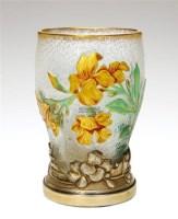 杜姆兄弟 花图案花瓶 -  - 装饰美术 - 2011秋季伊斯特香港拍卖会 -收藏网