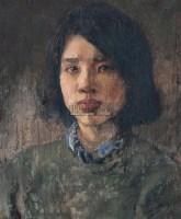 人物 木板 油画 - 靳尚谊 - 中国油画 雕塑影像 - 2006广州冬季拍卖会 -中国收藏网
