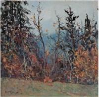 王恤珠 森林之晨 - 155141 - 广东当代油画名家 - 2007春季拍卖会 -中国收藏网