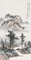 乡居 立轴 设色纸本 -  - 中国书画、油画 - 2011冬季古今艺术品拍卖会 -收藏网