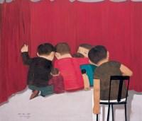 窥 布面 油画 - 向庆华 - 中国当代艺术 - 2006秋季拍卖会 -收藏网