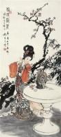 梅妆斗丽 立轴 纸本 - 程宗元 - 中国书画(一) - 嘉德四季第二十八期拍卖会 -收藏网